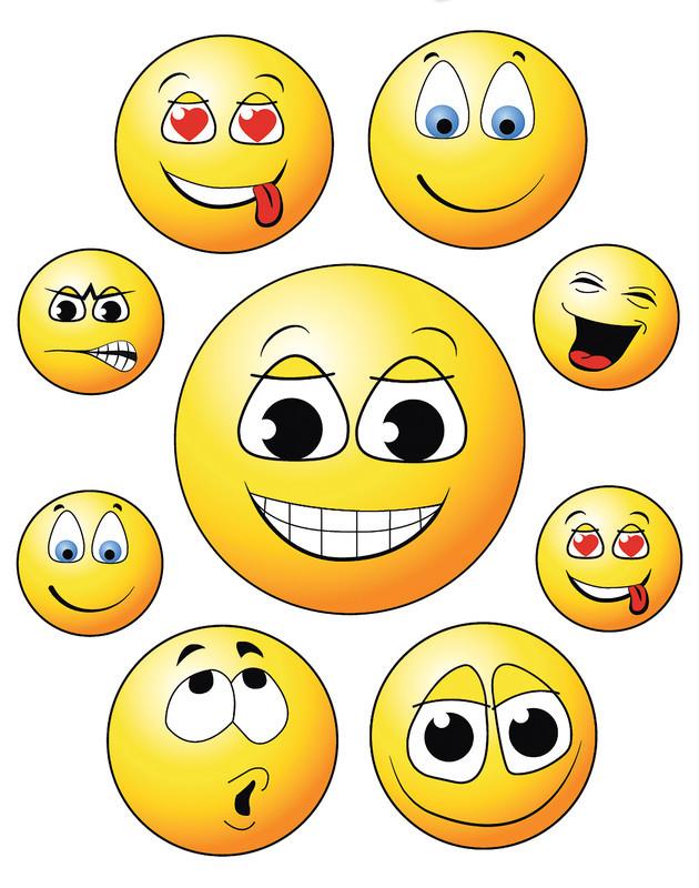 Fensterbilder Happy Face