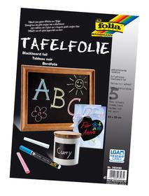 TAFEL-FOLIE SCHWARZ 23x33/Pà5