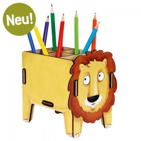 Stiftebox Vierbeiner - Löwe