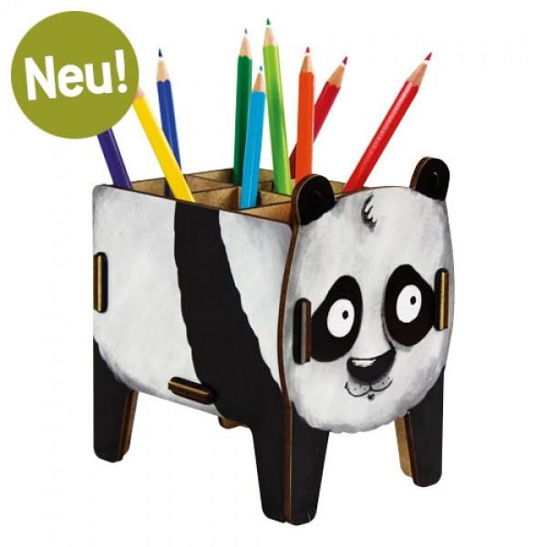 Stiftebox Vierbeiner - Panda