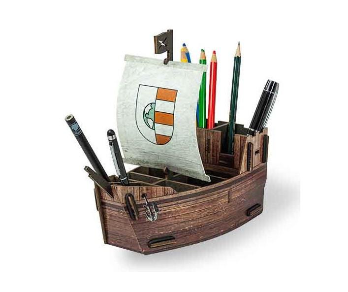 Stiftebox Segelschiff