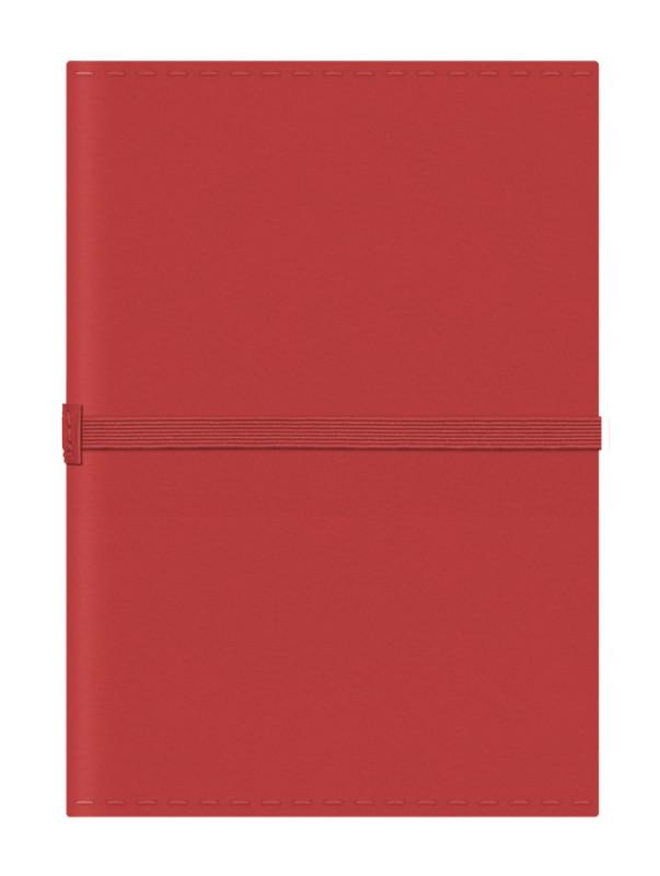 Notizbuch Jack-Book A6 leuchrot