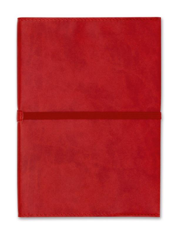Notizbuch Jack-Book A6 dunkelrot