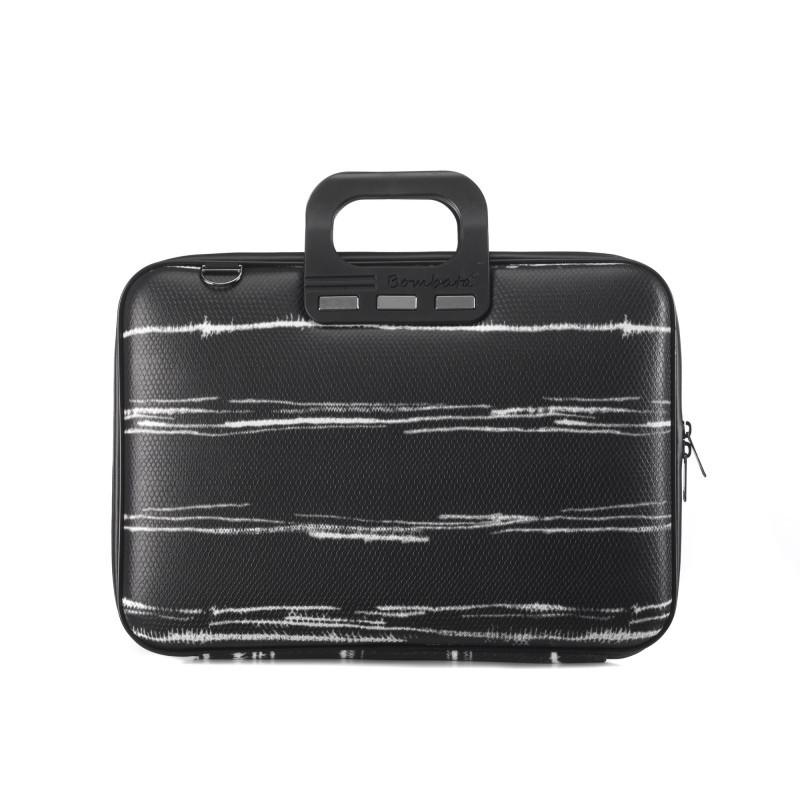 Laptophülle Bombata Classic15.6 schwarz/weiss