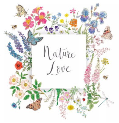 Serviette 33cm Nature Love