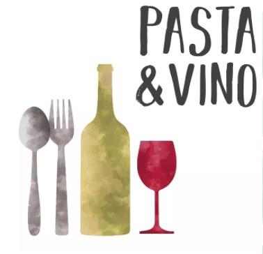 Serviette 25cm Pasta & Vino