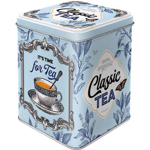 Dose Tea Box, Classic Tea, 7.5x7.5x9.5