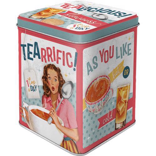 Dose Tea Box, Tealicious & Tearrific, 7.5x7.5x9.5
