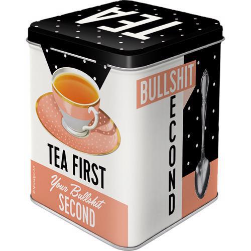 Dose Tea Box, First Tea Box, 7.5x7.5x9.5