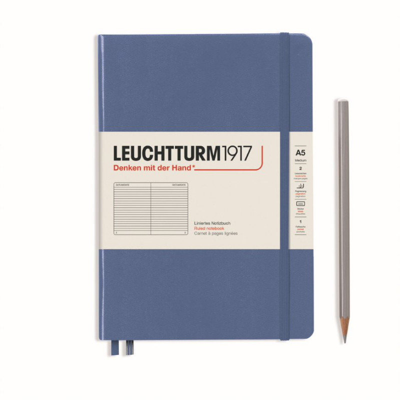 LEUCHTTURM MEDIUM LIN.DENIM