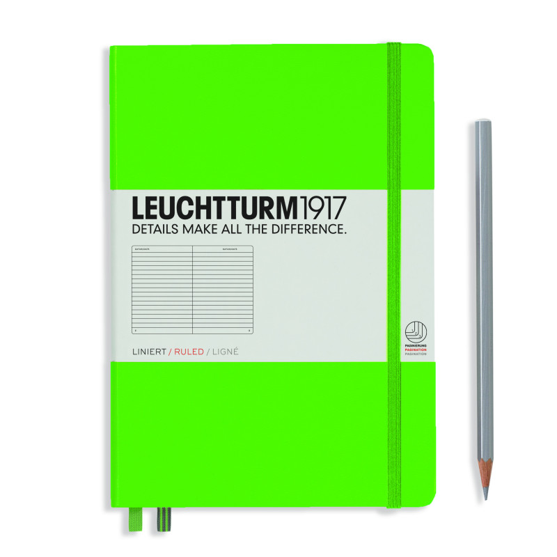 LEUCHTTURM MEDIUM LIN.FRGREEN