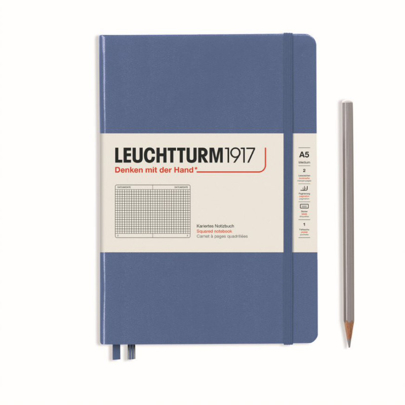 LEUCHTTURM MEDIUM CAR.DENIM
