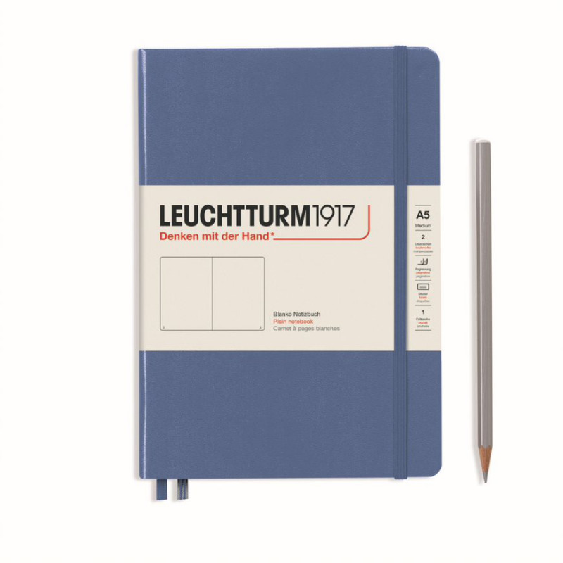 LEUCHTTURM MEDIUM BLAN.DENIM