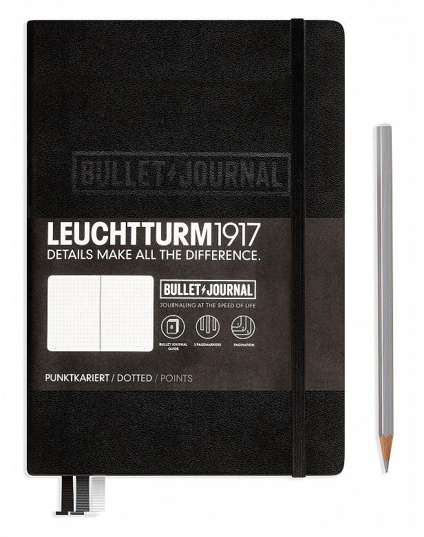 LEUCHTTURM BULLET JOURNAL SCHWARZ
