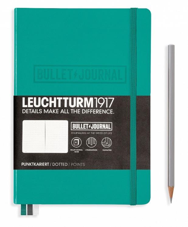 LEUCHTTURM BULLET JOURNAL SMARAGD