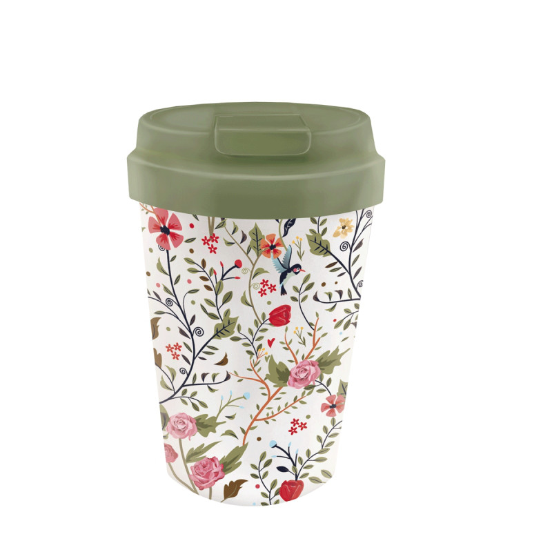 Becher Easy FLOWERS AND BIRDS