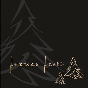 Weihnachtskarte 8688 Frohes Fest