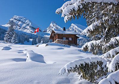Weihnachtskarte 8848 Alp Sellmatt, GR