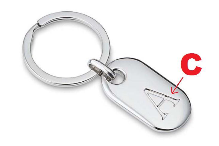 Schlüsselanhänger Philippi C