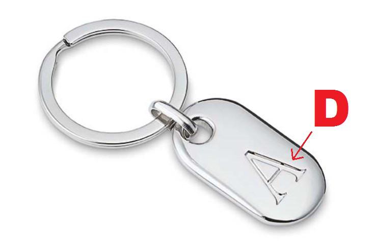 Schlüsselanhänger Philippi D
