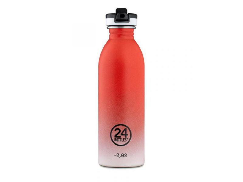 Trinkflasche Urban 500 ml Coral Pulse