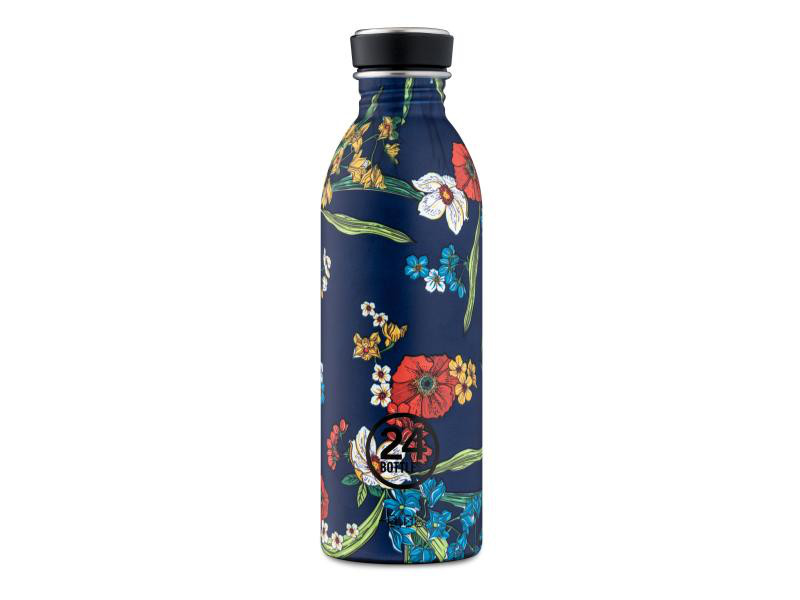 Trinkflasche Urban 500 ml Denim Bouquet