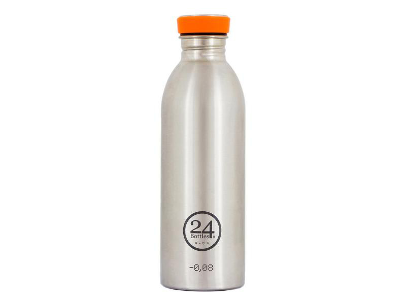 Trinkflasche Urban 500 ml Steel