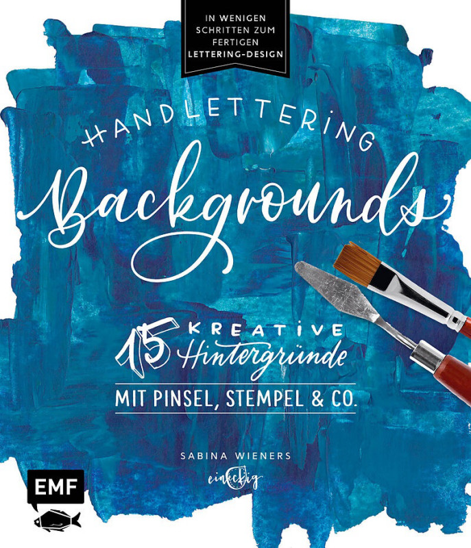 Buch Handlettering Backgrounds