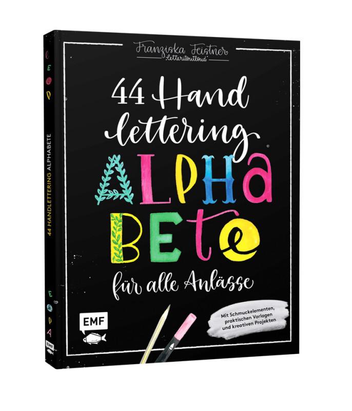 Buch Handlettering - 44 Alphabete