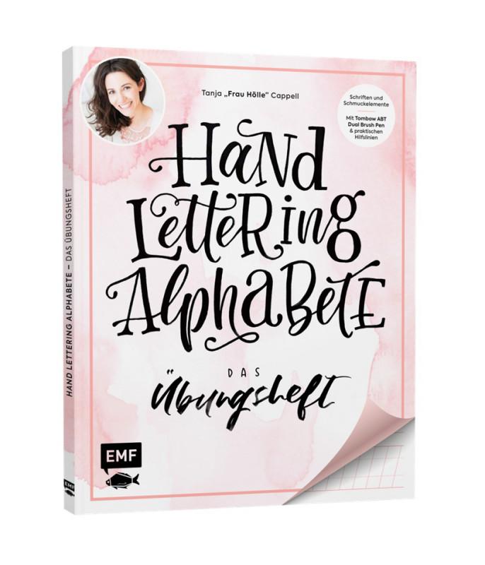 Buch Handlettering Alphab.Übungsheft