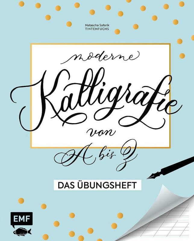 Buch Kalligrafie A bis Z Übungsheft