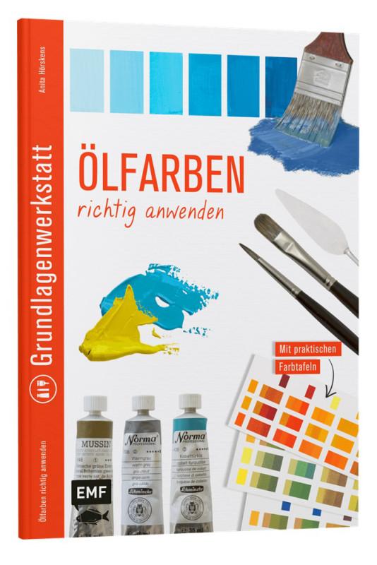 Buch Ölfarben richtig anwenden