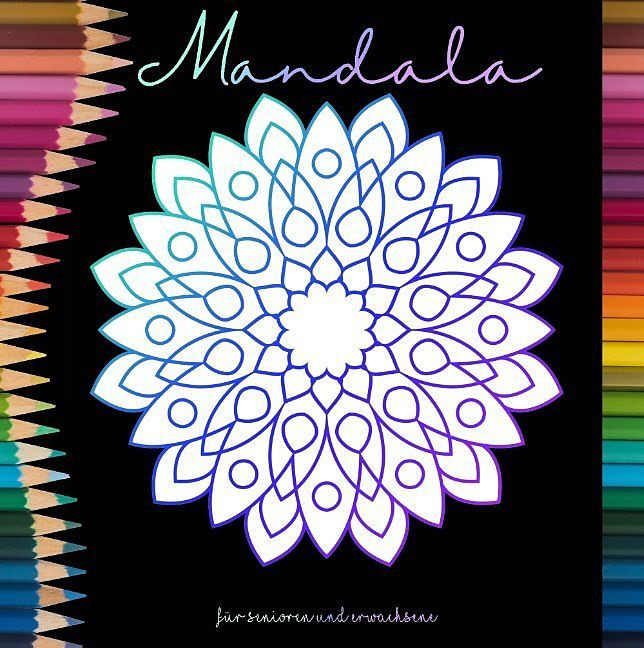 Buch Mandala Malen Senioren+Erwachsene