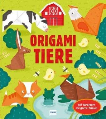 Buch Origami Tiere + Faltpapier