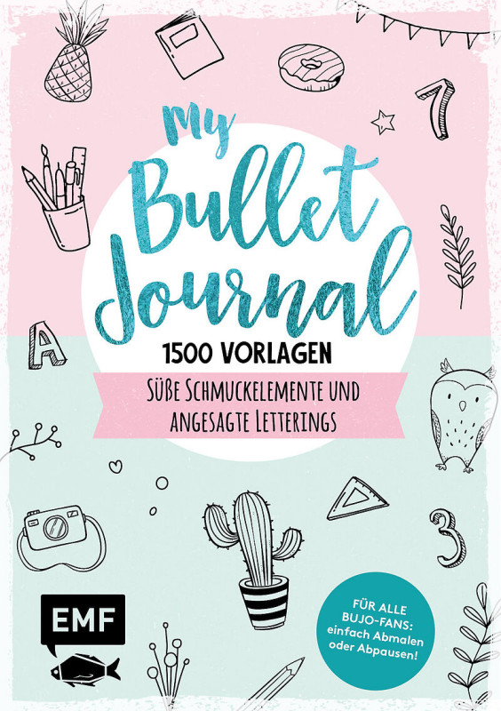Bullet Journal 1500 Vorlag.Schmuckelemente
