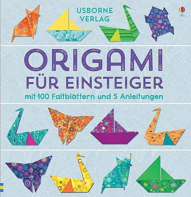Faltpapier Origami für Einsteiger