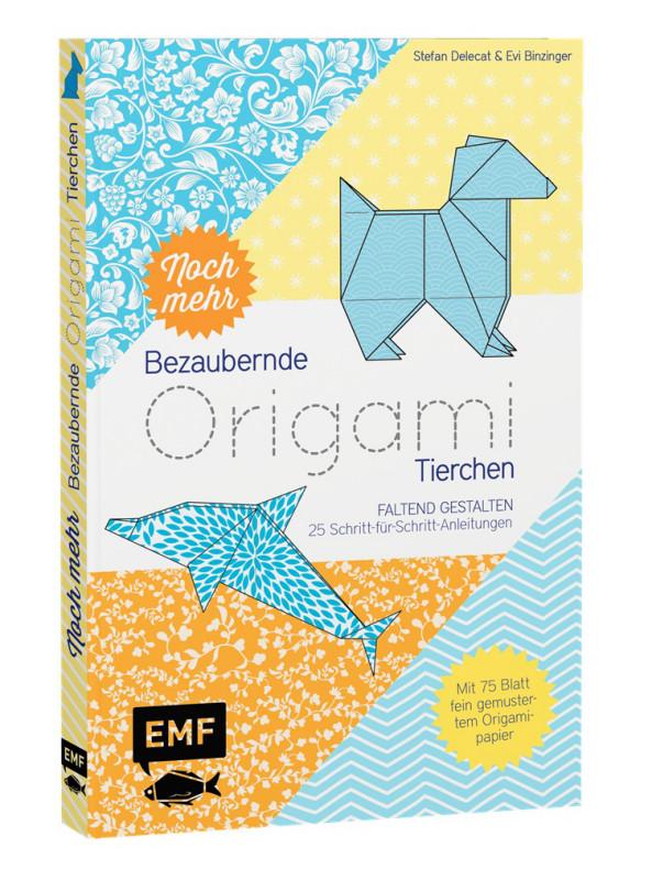 Faltpapier Origami Tierchen