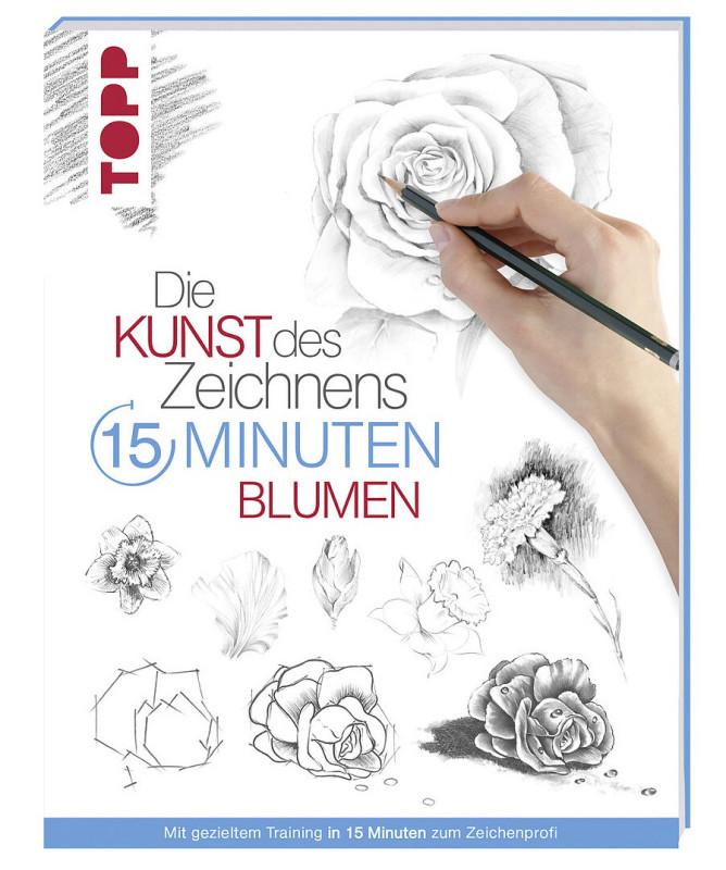 Buch 8274 Kunst d.Zeichnens Blumen