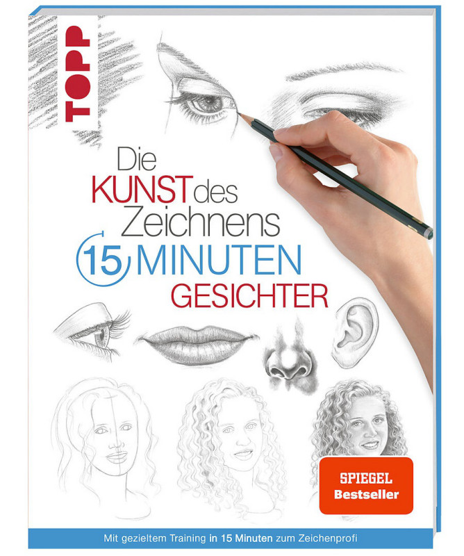 Buch 8270 Kunst d.Zeichnens Gesichter