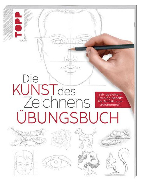 Buch 8260 Kunst d.Zeichnens Übungsbuch