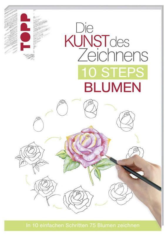 Buch 8390 K.d.Z.10 Steps Blumen