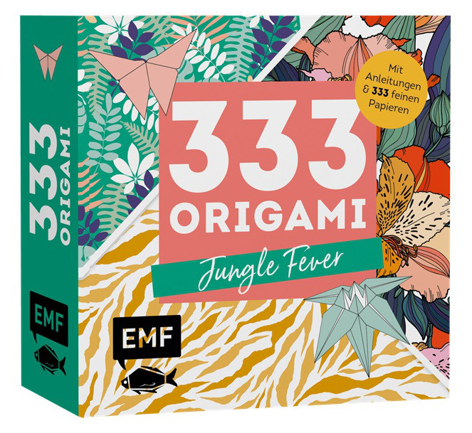 Buch 333 Origami Jungle Fever