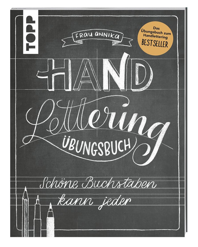Handlettering Kunst schöne Buchst.Übungsbuch