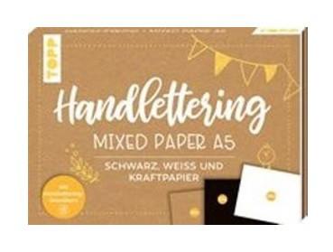 Handlettering Mixed Paper Block A5