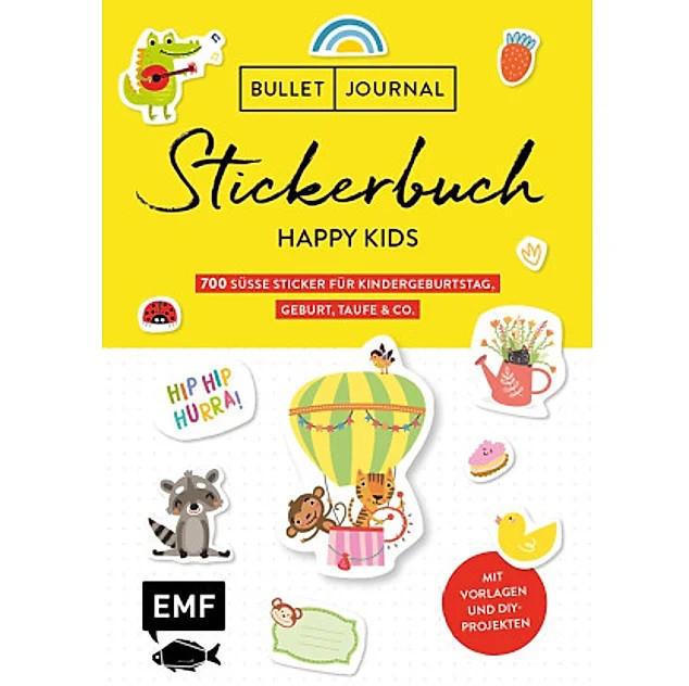 Bullet Journal - Stickerbuch Happy Kids